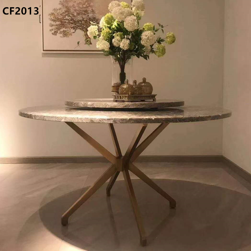 Dining table, metal table, solid wood table, marble table, hotel table